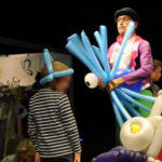Skulpteur von Ballons Live